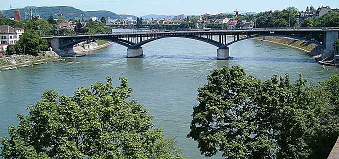 Basel: Wettstein Bridge