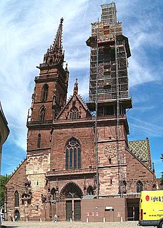 Basel: Gothic Cathedral
