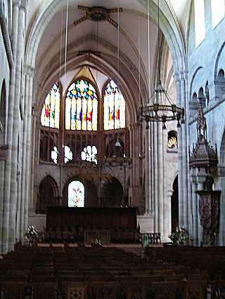 Basel Cathedral: Nave