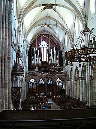 Basel Cathedral: Organ